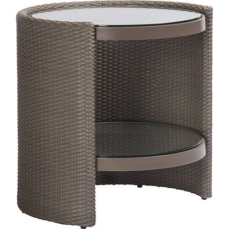 F-36 McGuire Furniture: Horizon Round End Table: No. BB-205 | FH ...