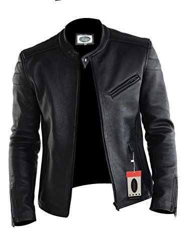 Laverapelle Mens Lamb skin Real Leather Jacket Black 1510008 ...