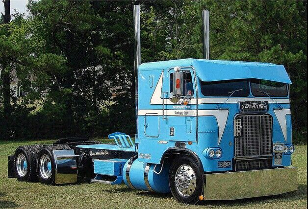 Old. Cabover Diesel Wagon