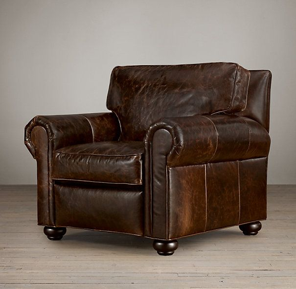 Lancaster Leather Recliner Consider Cognac Chestnut or Distressed Whiskey leather & Lancaster Leather Recliner Consider Cognac Chestnut or Distressed ... islam-shia.org