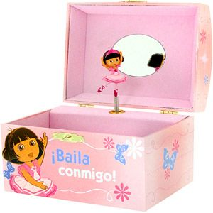 Dora the Explorer Music Jewelry Box Sweets Pinterest Music