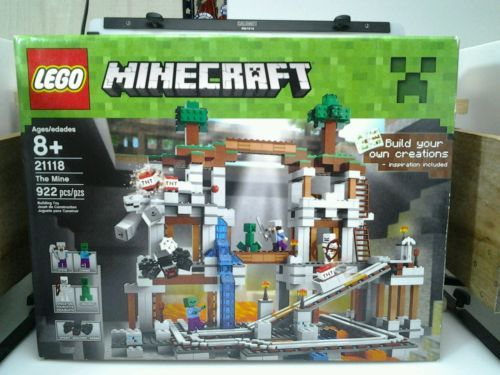 "LEGO MINECRAFT ""THE MINE"" SET #21118 MIB https://t.co/vHU7LgKCbR https://t.co/Cw8KusppEd"