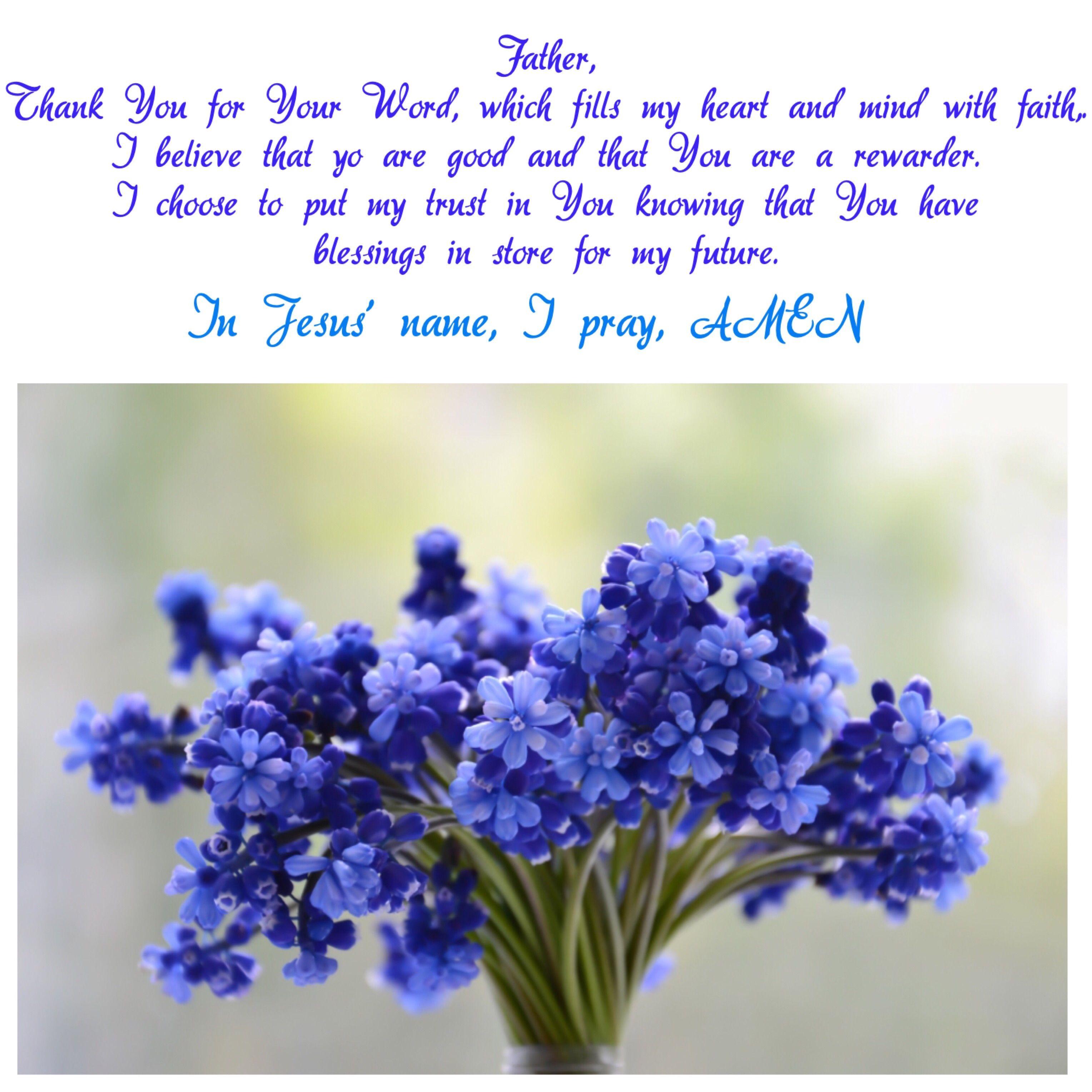 Prayer Inspired By Hebrews 11 6 Names Of Jesus Jesus Loves Me This I Know Gods Love