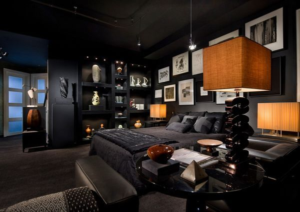 A Complete Guide To A Perfect Bachelor Pad Black Bedroom Design