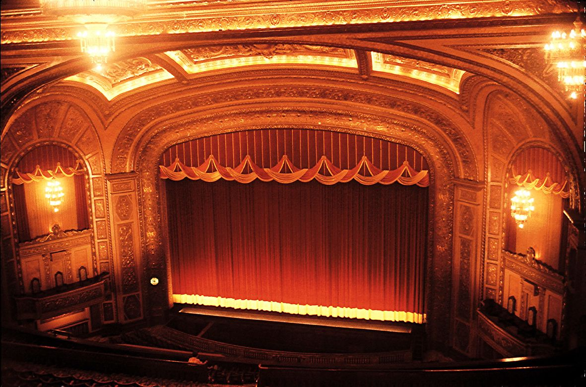 The 700-seat McGuire Proscenium Stage. Photo by Roland Halbe ...
