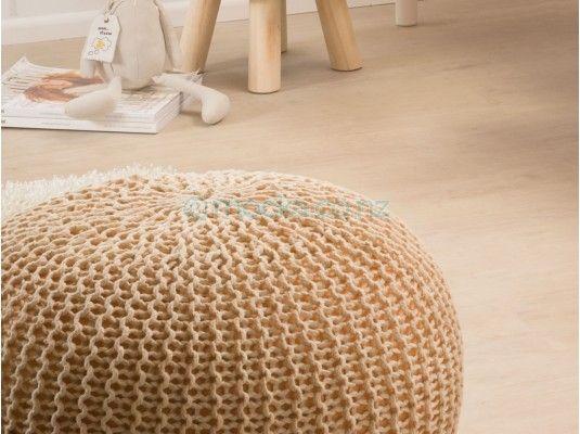 Mocka Crochet Pouffe