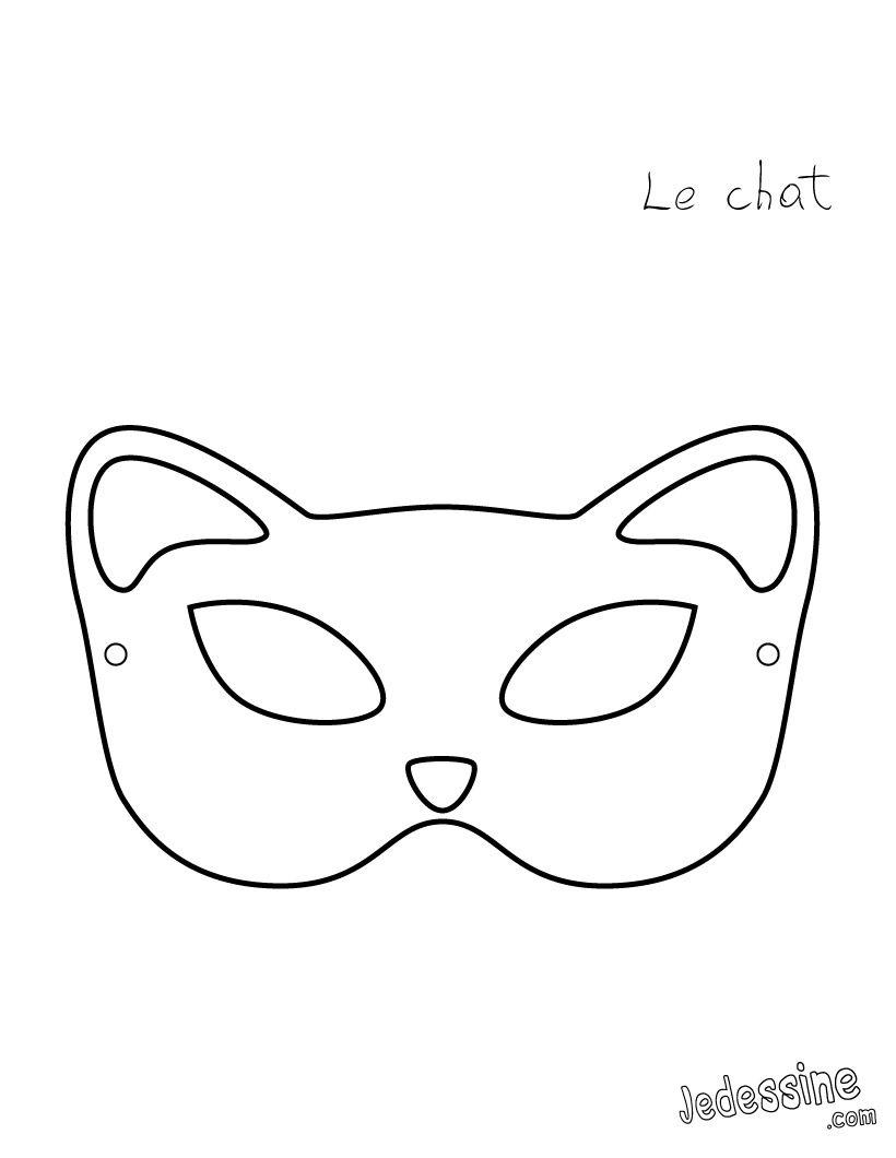 plantilla-mascara-gato | Party ideas | Pinterest | Masking, Kawaii ...