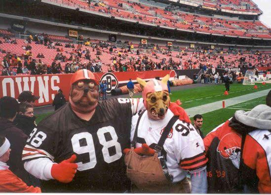 Cleveland Browns Dog Pound