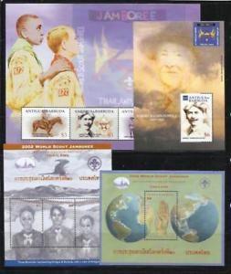 a antigua y barbuda ano 2002 tema scoutismo