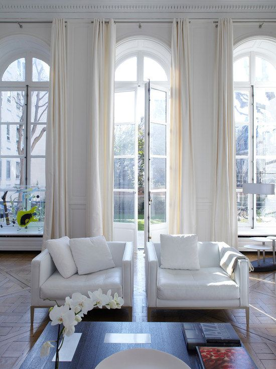 volltonfarbe leinen vorh nge rattan dunkel beige von. Black Bedroom Furniture Sets. Home Design Ideas
