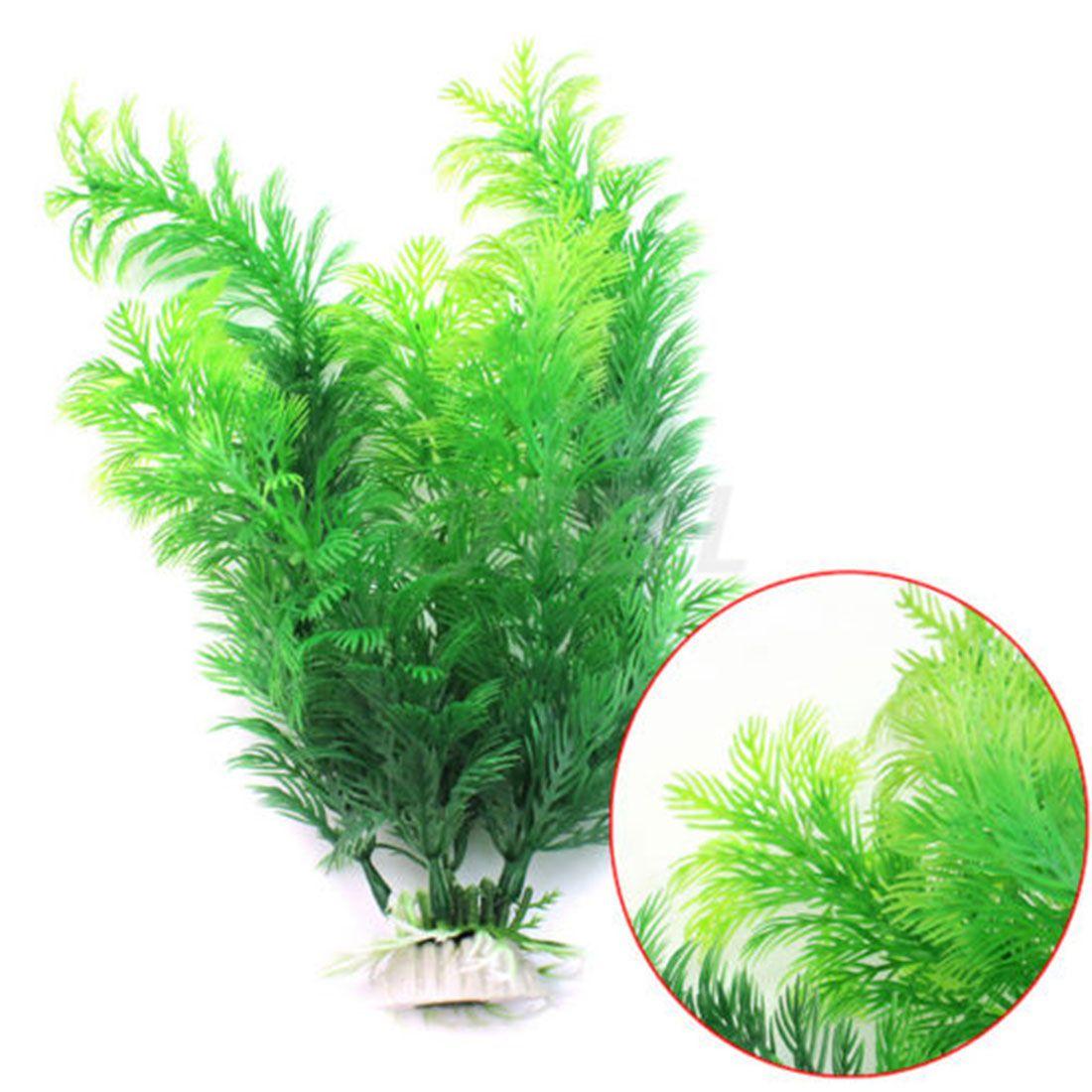 Submarine ornament artificial green underwater plant fish tank