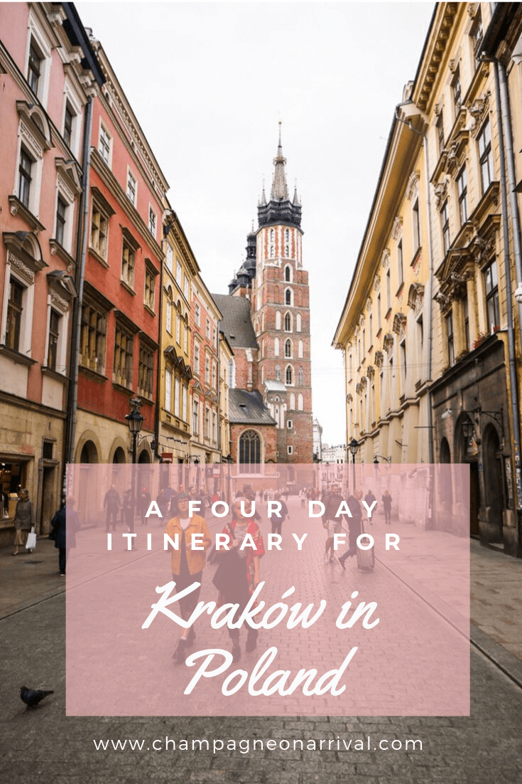 , 4 Day Itinerary for Kraków in Poland   Champagne on Arrival, My Travels Blog 2020, My Travels Blog 2020