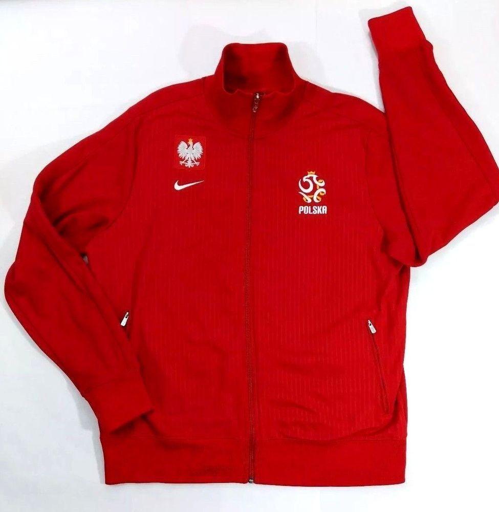 Nike mens polska poland track jacket red soccer football zipper casual nike  polandpolska jpg 975x1000 Poland cf8b13f2b