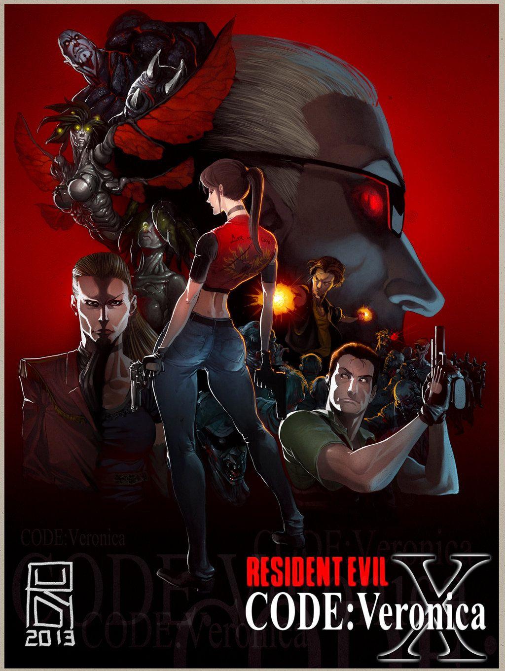 Resident Evil Code Veronica by Darkdux on deviantART