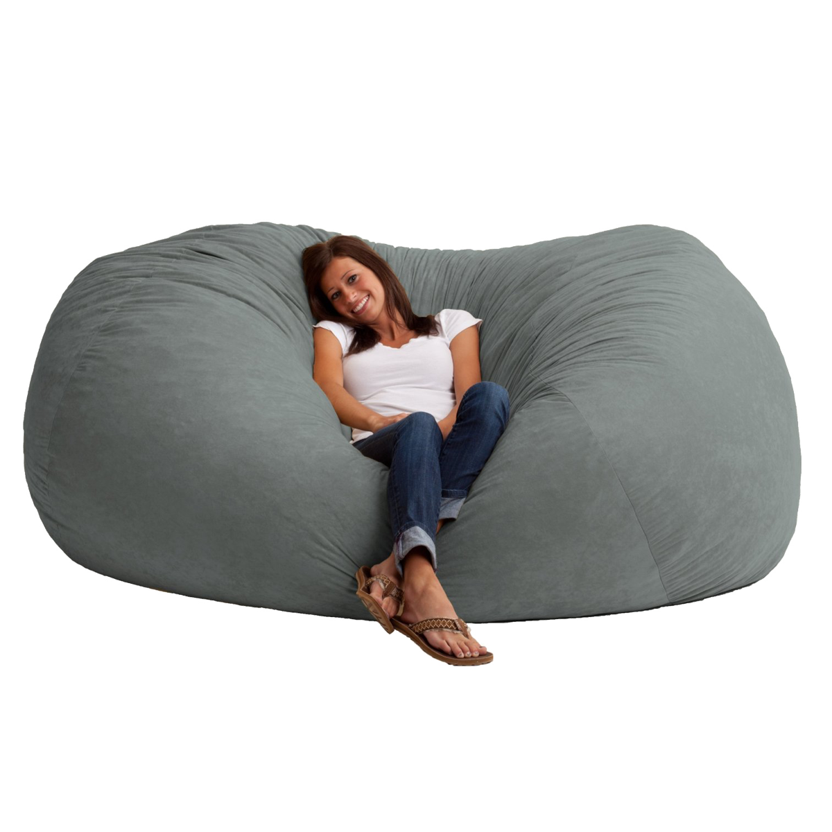 what size bean bag chair do i need plastic pool chairs big ass beanbag 7 foot long awesome best of amazon