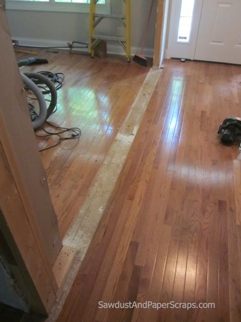 Patching Wood Floors Sawdust Girl Flooring Wood Floors Wide Plank Prefinished Hardwood