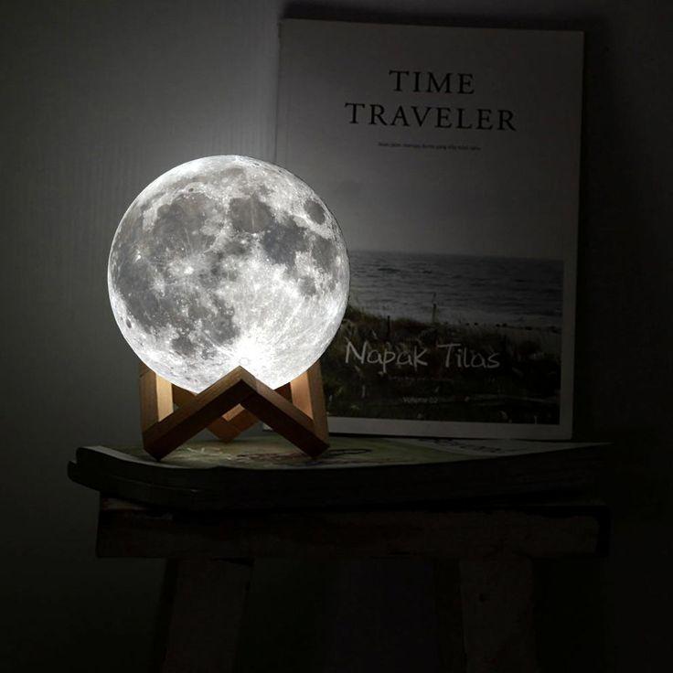 Glowing Moon Lamp | Mond lampe, Lampen, Lampenschirm selber