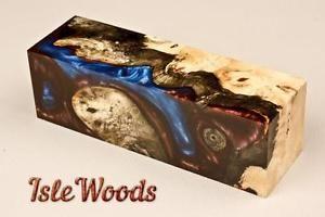 Gallery Grade Buckeye Acrylic Burl Wood Pen Blanks Calls Scales BKY1480 P FS | eBay