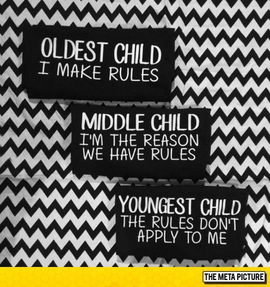 I'm The Middle Child #middlechildhumor I'm The Oldest child #middlechildhumor I'm The Middle Child #middlechildhumor I'm The Oldest child #middlechildhumor