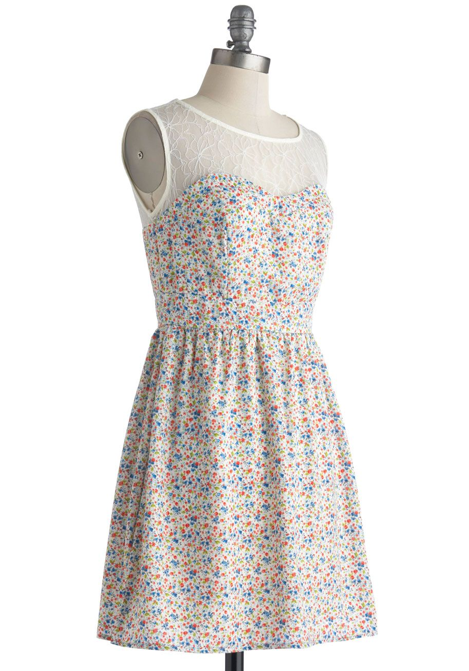 Wildflower Rambling Dress | Mod Retro Vintage Dresses | ModCloth.com