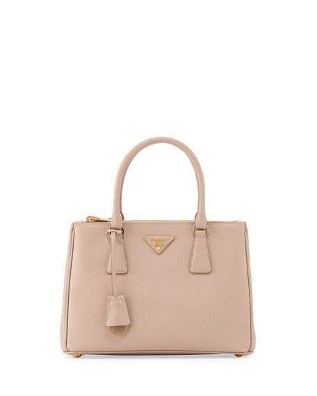 eba2048be00b Saffiano Lux Small Double-Zip Tote Bag