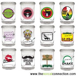 Glass Stash Jars Air Tight Glass Storage Jars For Mmj Wholesale