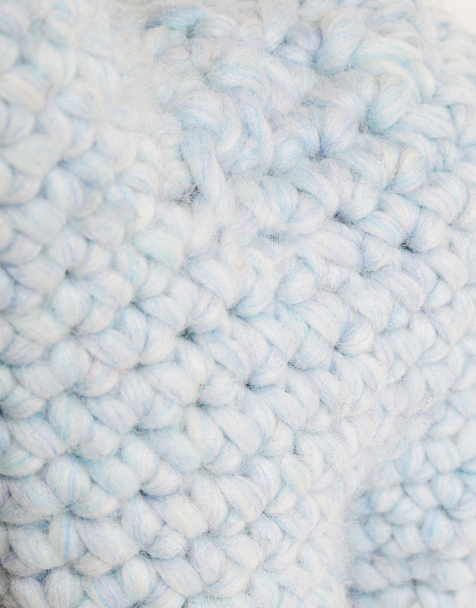 Alpacino detail in Crazy Sexy Wool Stonewash Blue by Wool and the ...