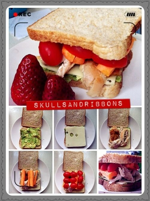 lunchbox sandwhich ideas