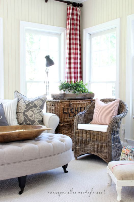 Savvy Southern Style: A New Look in the Sun Room