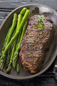 Grilled Marinated New York Strip Steak #grilledsteakmarinades