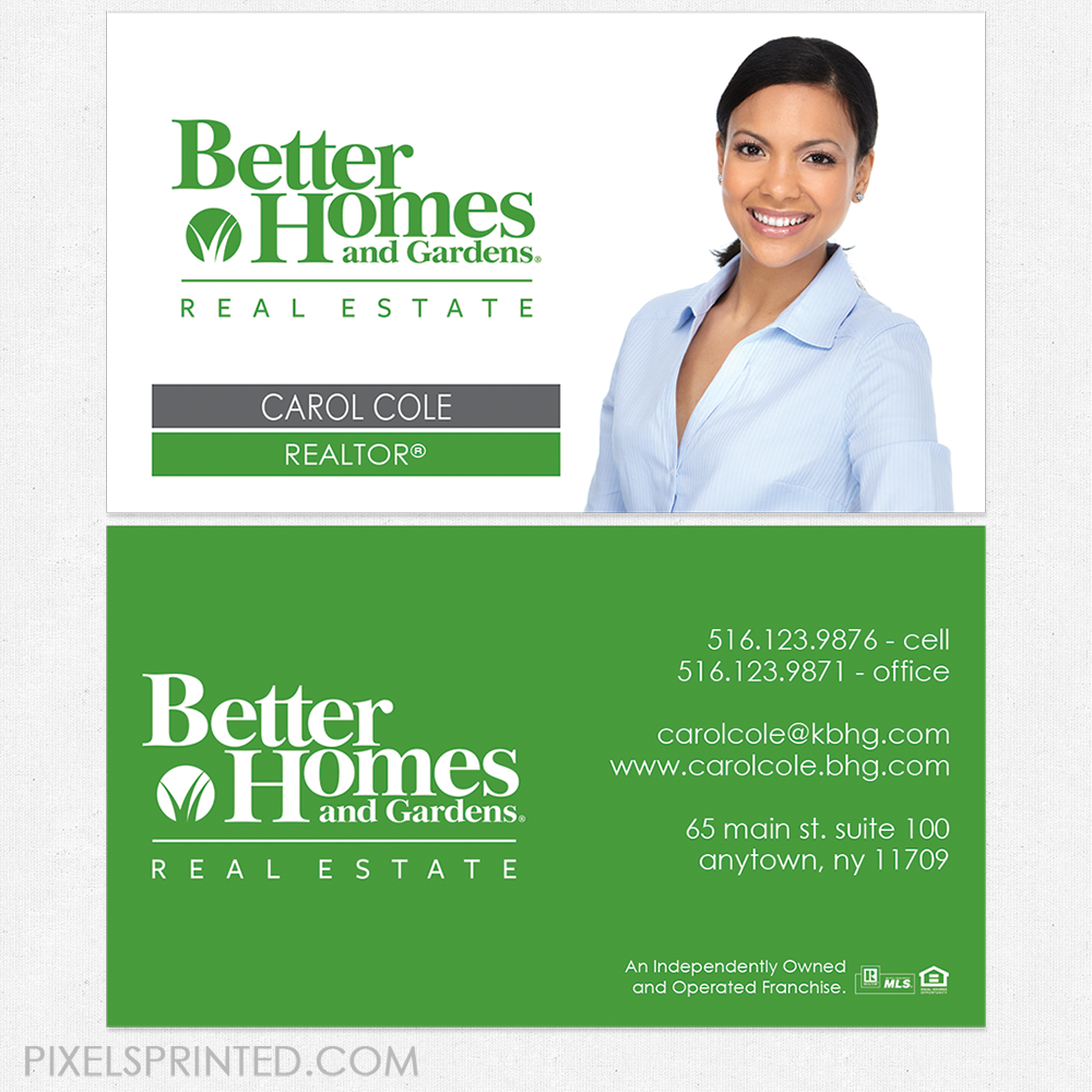 Better Homes And Gardens Business Cards Business Cards Better