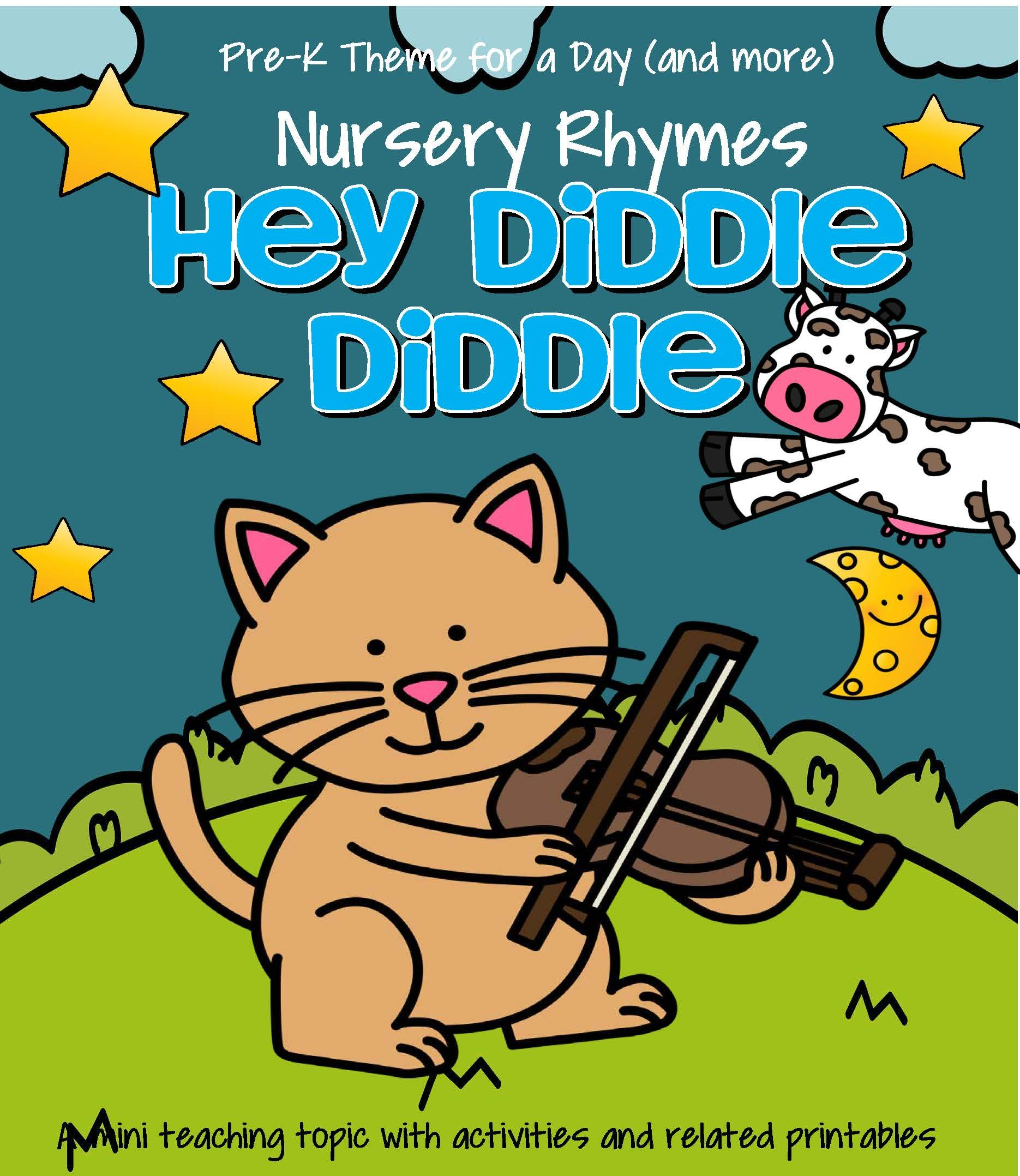 Hey Diddle Diddle Literacy Amp Math Centers Activities