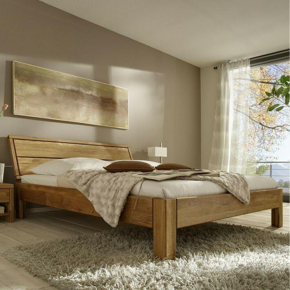 Bett 120x200 Eiche Massiv Einzelbett Geolt Home Decor Home Furniture
