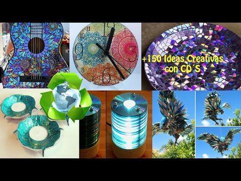 Chuladas creativas lampara con cds reciclando cds for Cd reciclados decoracion