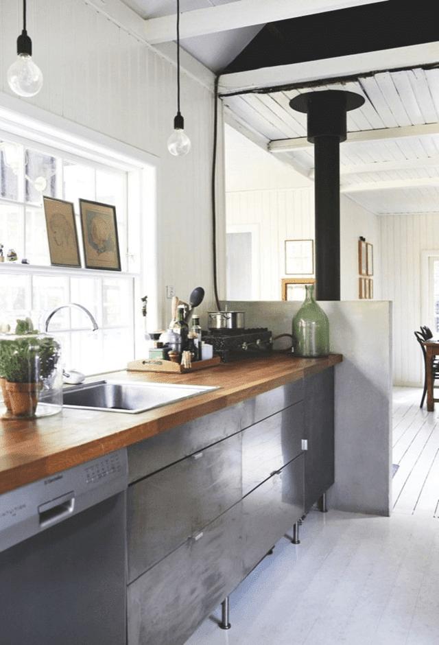 Casa Verano Dinamarca Llena Recuerdos Cocina Png 640 940 Keukens