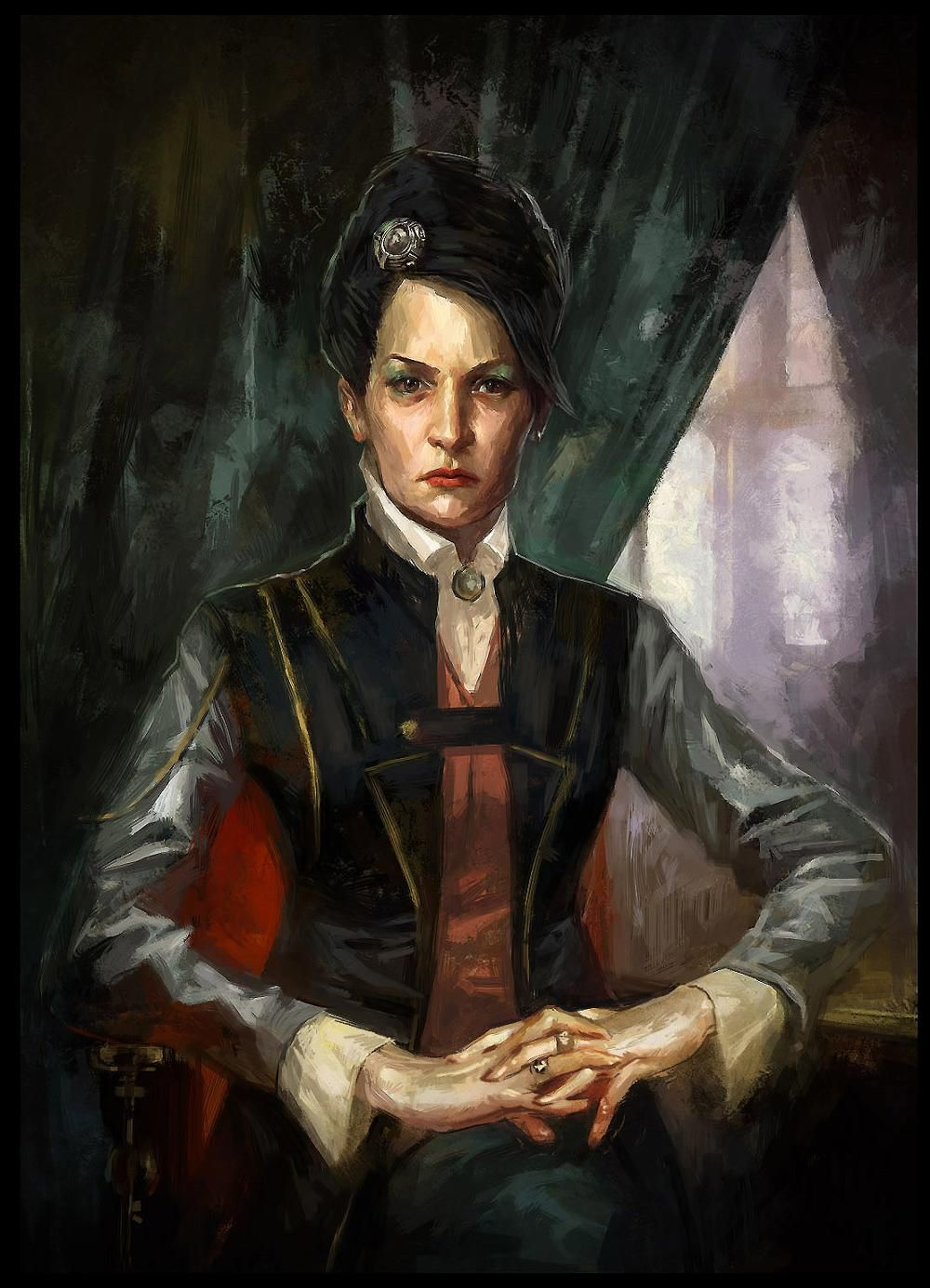 Sokolov Painting Vera Moray And The Affix Of Her Skin