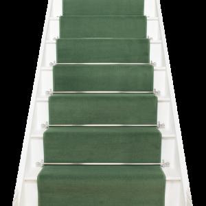 Best Plain Light Green Stair Runner Carpet Stairs Carpet 400 x 300