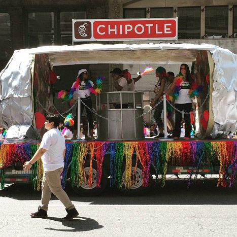Chipotle Chipotle\u0027s slogan this year was the cheeky \