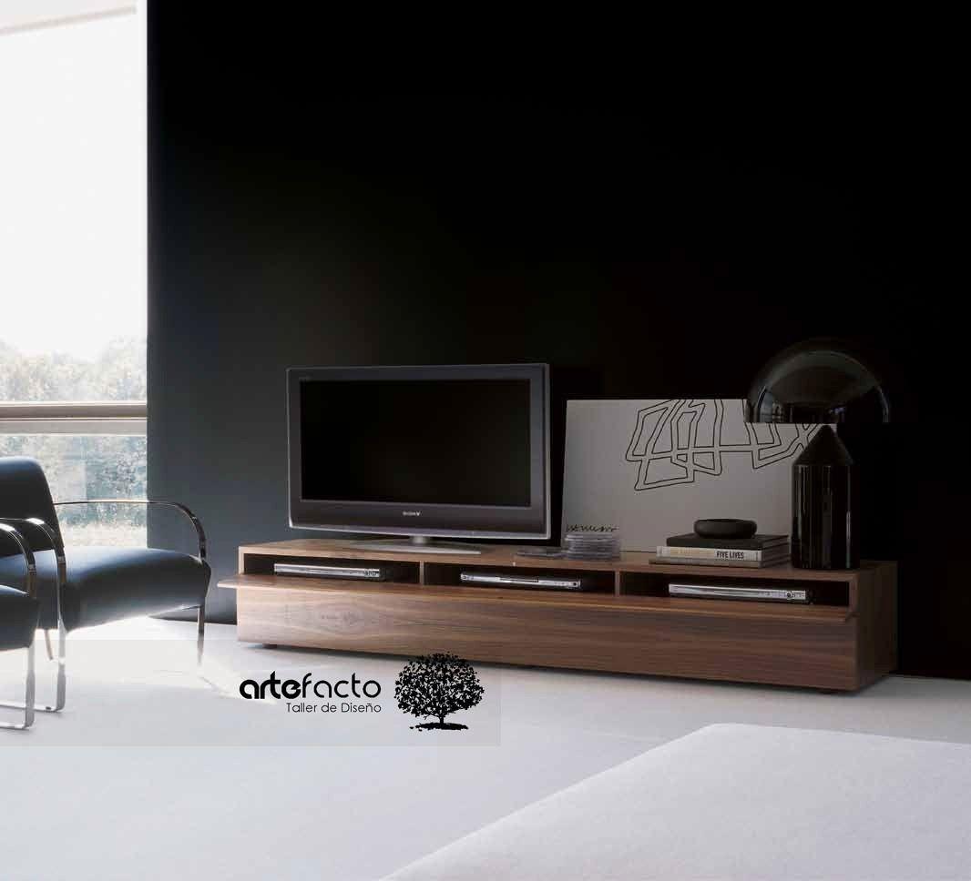 Mueble Para Tv Minimalista Buscar Con Google Deco Pinterest  # Muebles Minimalistas