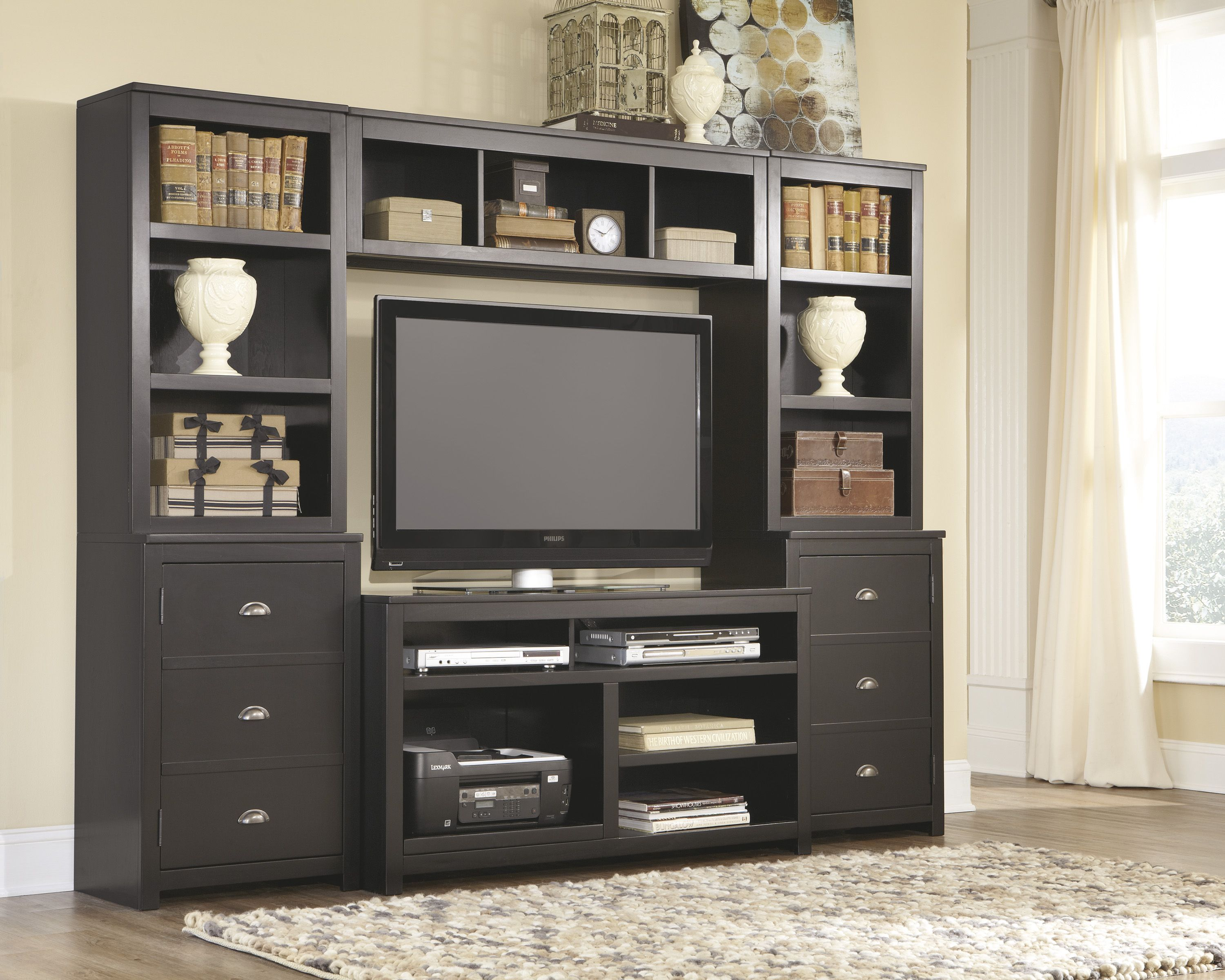 Ashley Furniture W580 Owingsville Black (With images