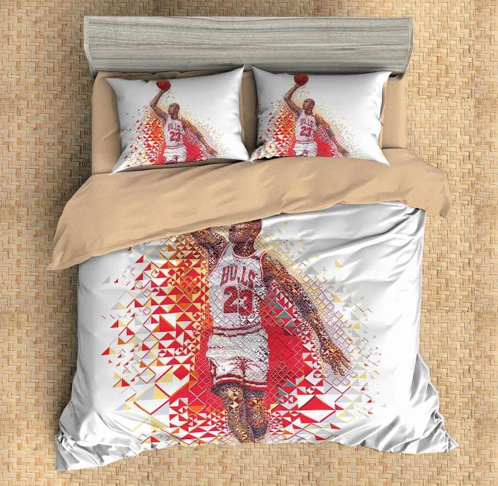 3D Customize Michael Jordan Bedding Set Duvet Cover Set