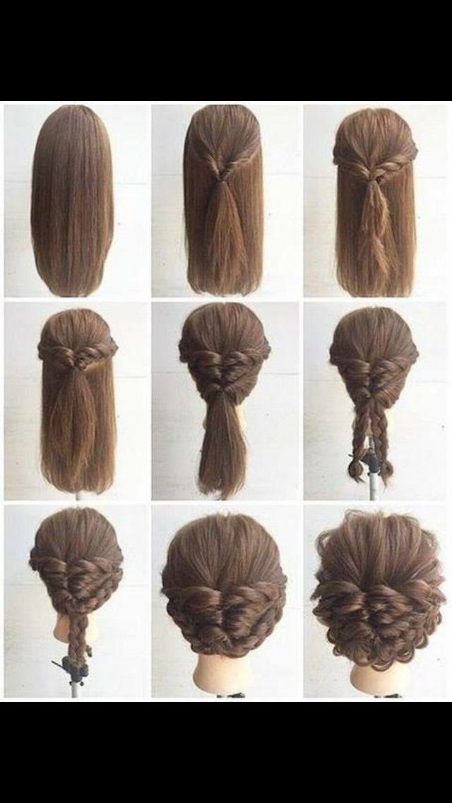 Easy Formal Hairstyles Pinangela Marco On Peinados Favoritos  Pinterest  Hair Style