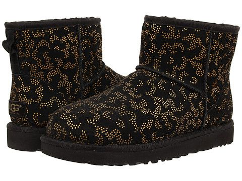 Ugg classic mini metallic conifer at 6pm.com