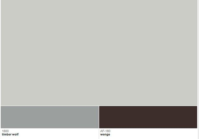 Benjamin Moore Stonington Gray w/ accent colors