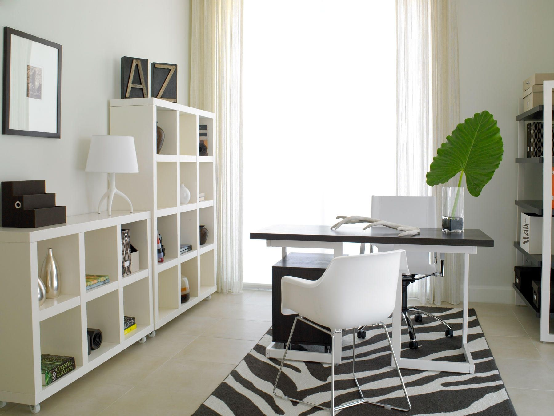 Home offices don\'t need to be drab or boring. Make your office space ...