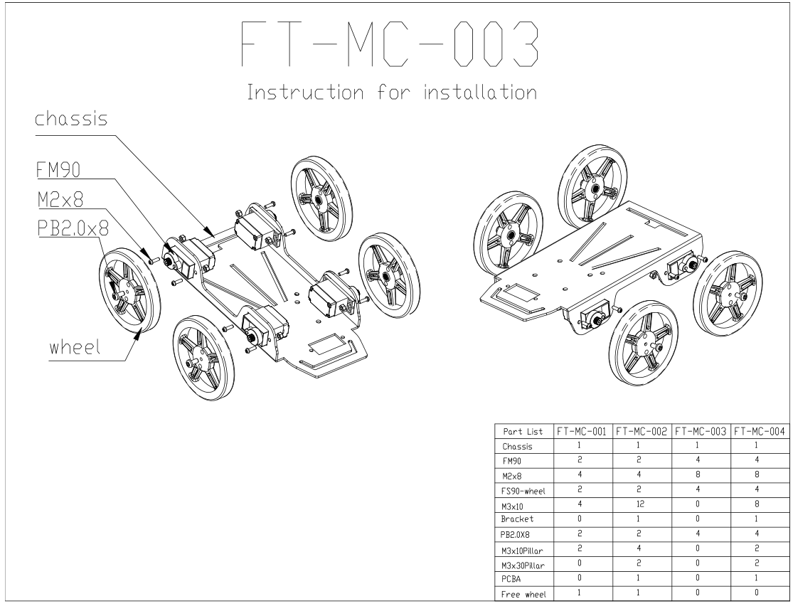 Pin By Jenny Deng On Fitec Feetech Robot Kits With Images