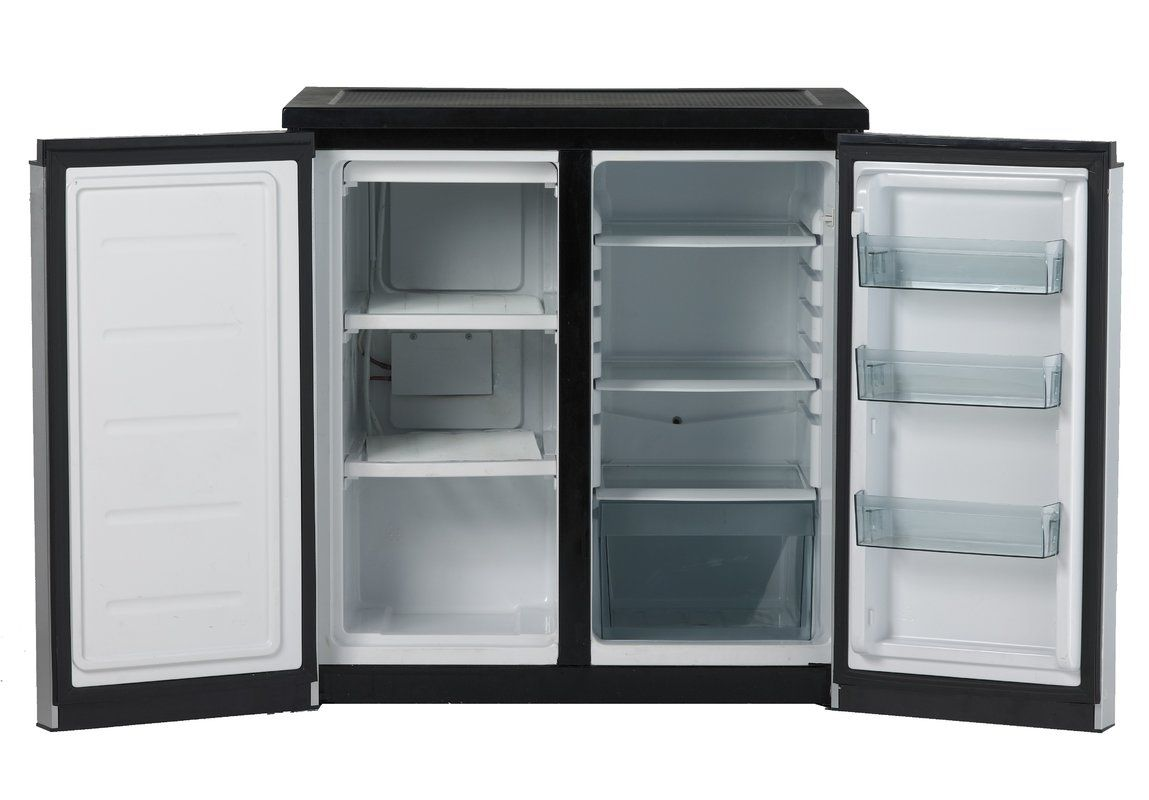 5 5 Cu Ft Undercounter Refrigerator With Freezer Refrigerator Freezer Mini Fridge With Freezer Counter Height