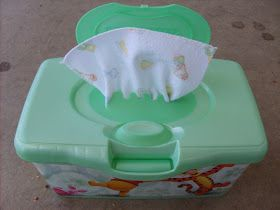 the red kitchen: How to make (and use!) your own Cloth Wipes