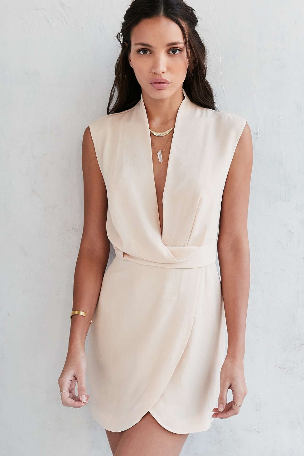 Finders keepers summer dress white