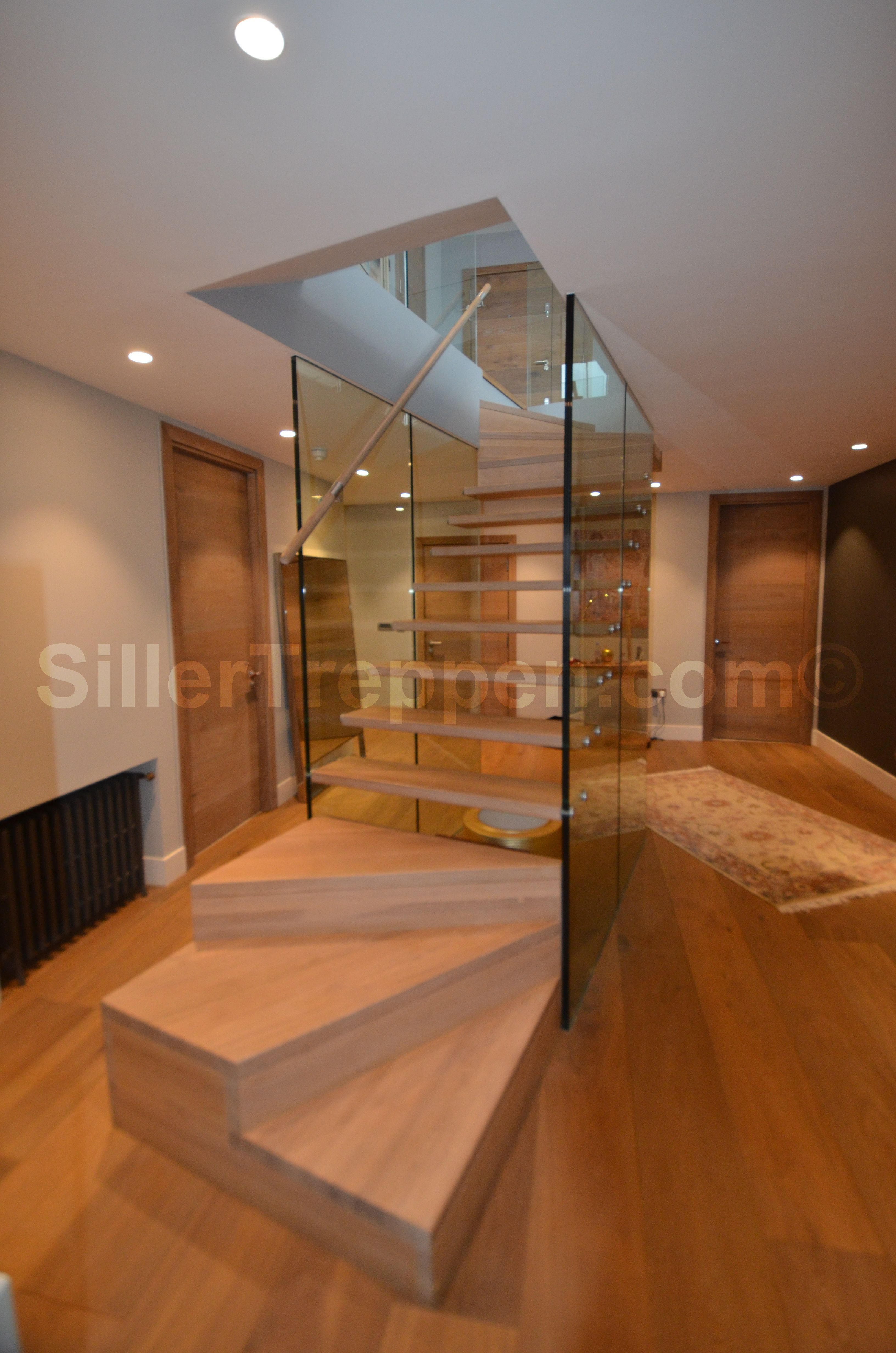 Best Floating Stairs With Glass Walls For Residential Project 400 x 300